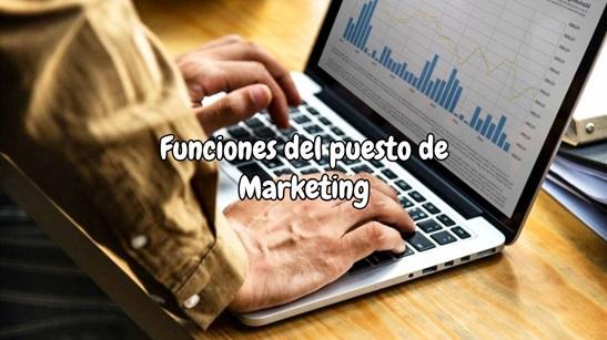Funciones del puesto de Marketing