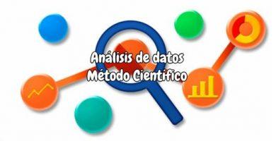 Análisis de datos método científico
